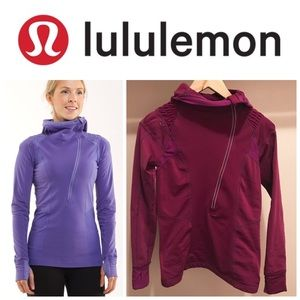 Lululemon Run for It Magenta Pullover